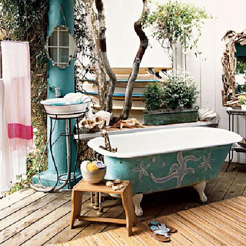 outstanding outdoor bathrooms