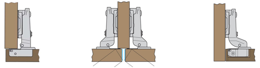 Kitchen Cabinet Door Hinges explaining concealed kitchen cabinet hinges