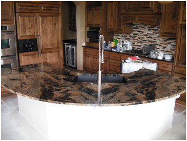 Countertops Cureved