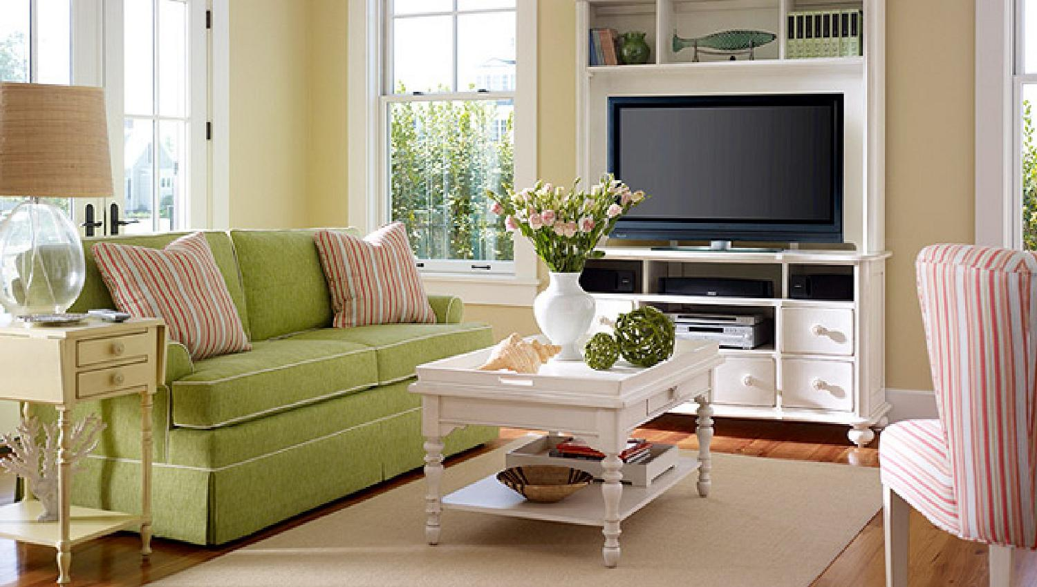 Small Country Living Room Decorating