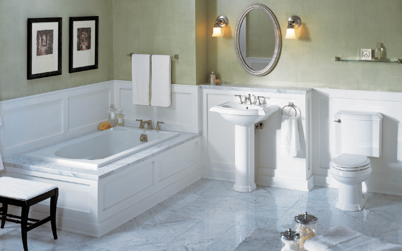 Bathroom. 5 Ways to Turn your Bathroom into a Featured Room