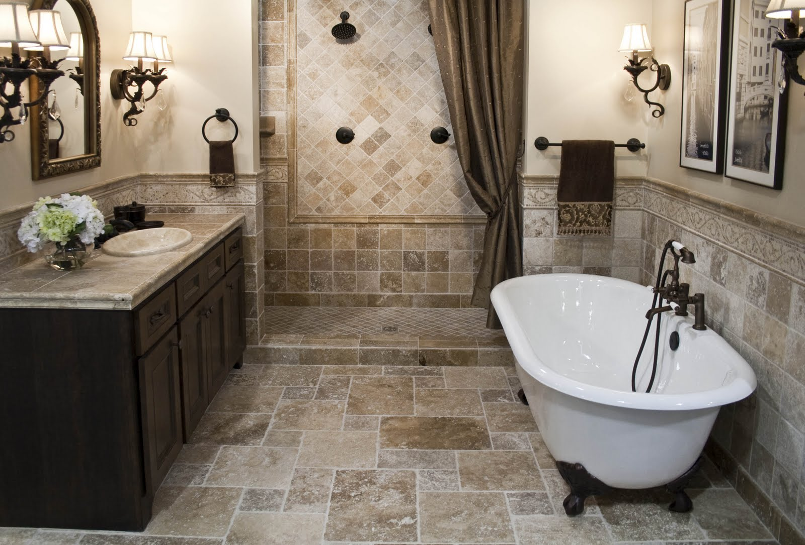 Tips For DIY Bathroom Renovations On A Budget - Classic bathroom renovations