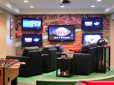 Man Cave Mania How to Design the Ultimate Safe Haven for a Sport Fan