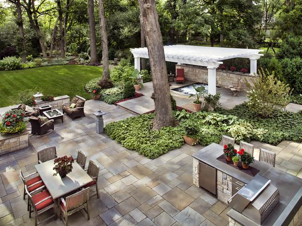 Backyard Living Source : The Five Elements In Your Outdoor Living Space This Spring