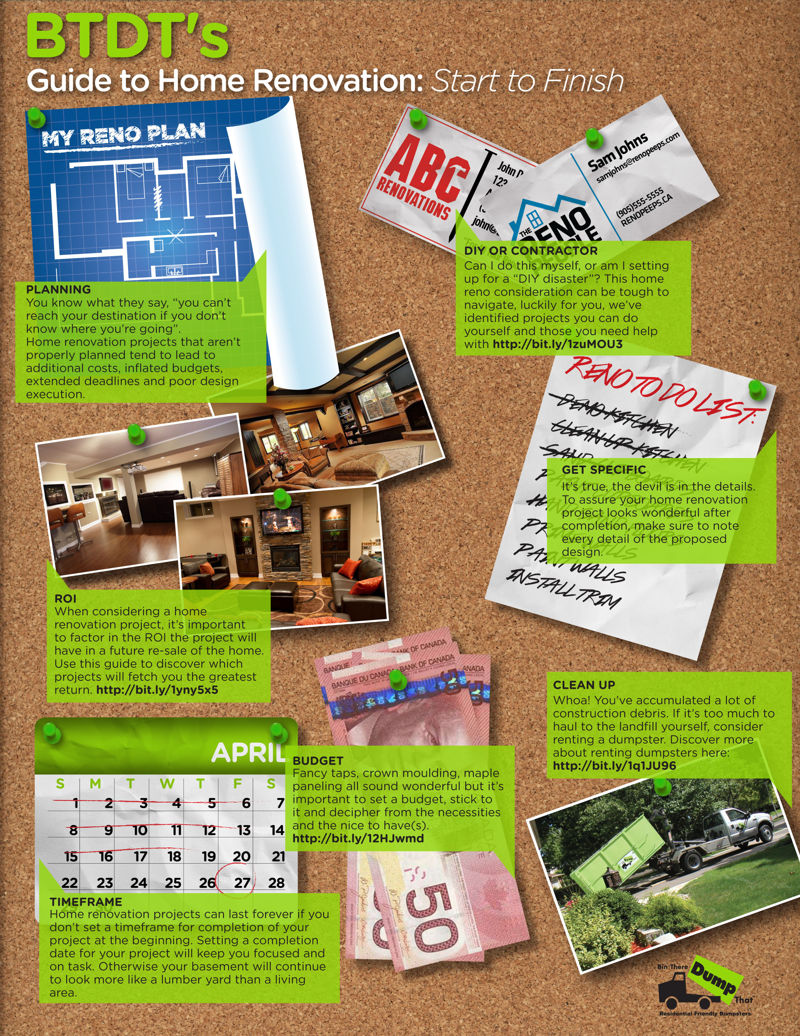 Bin There Dump That 39 S Guide To Home Renovation Start To