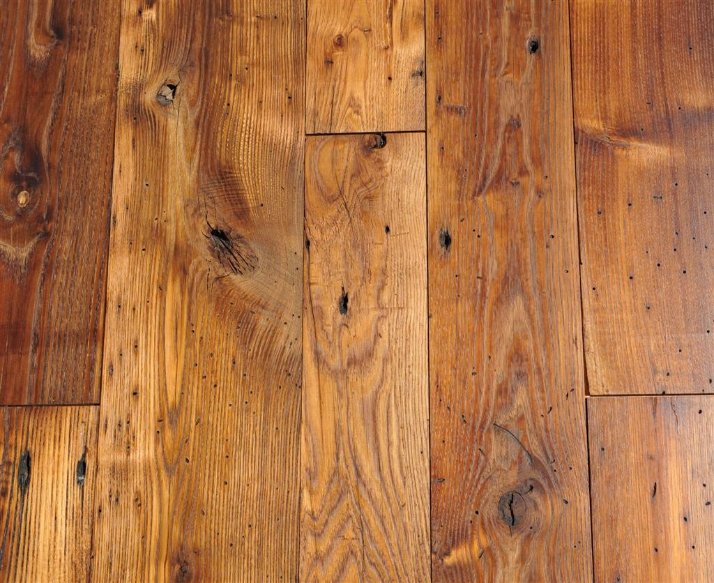 Ways to restore old flooring for Reclaimed hardwood flooring