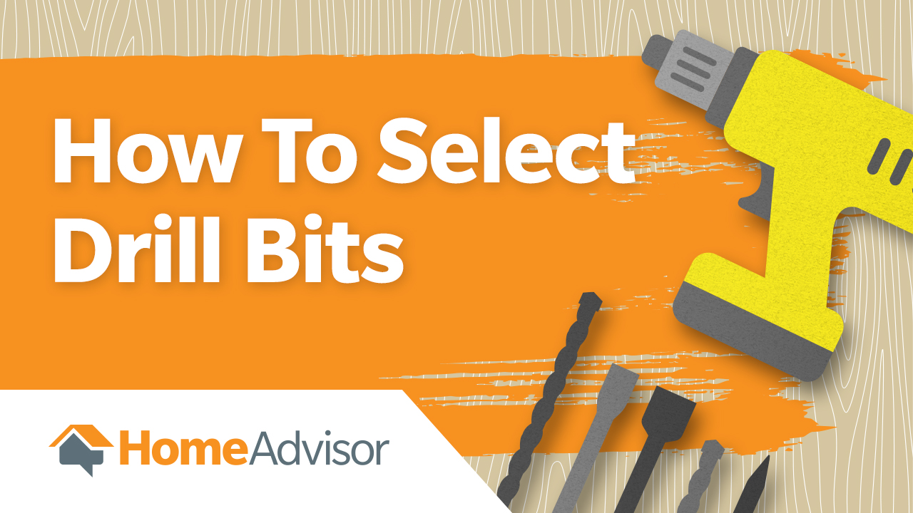 How to Select Drill Bits (Video) - The HomeSource