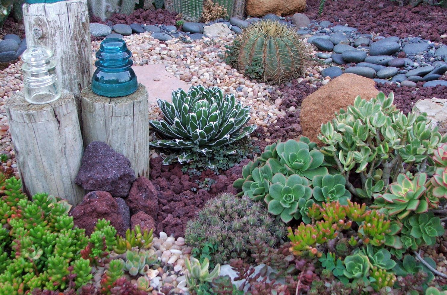 Landscaping ideas for a gorgeous drought resistant yard for Landscaping rocks and plants