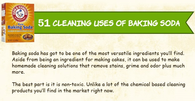10 Cleaning Uses Of Baking Soda