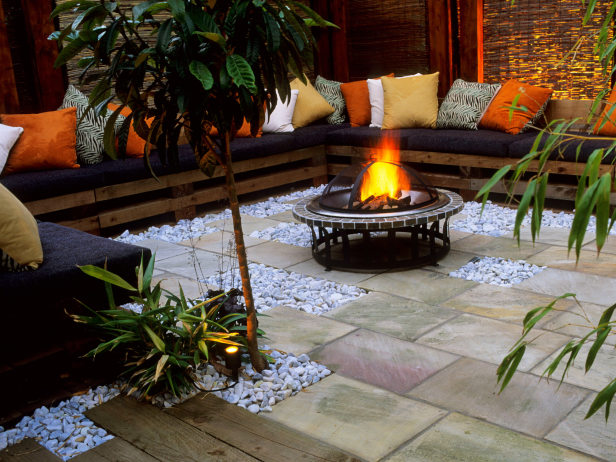 Hgtv Garden Ideas garden design with big backyard ideas and outdoor design with pictures big backyard with pizza oven Garden Design With Fire Pit Ideas To Perfect Your Yard Or Patio With Gardening Tips From