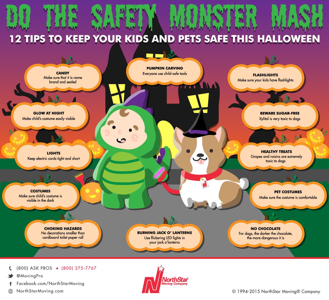 halloween safety tips v3 - Halloween Tips