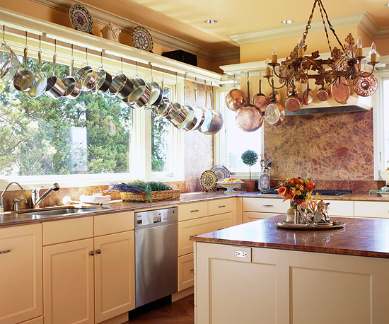 Hang Pots And Pans From The Ceiling Image Provided By Author