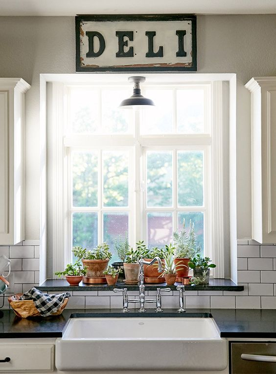 5 ways to love your home even more the homesource for Kitchen window decoration